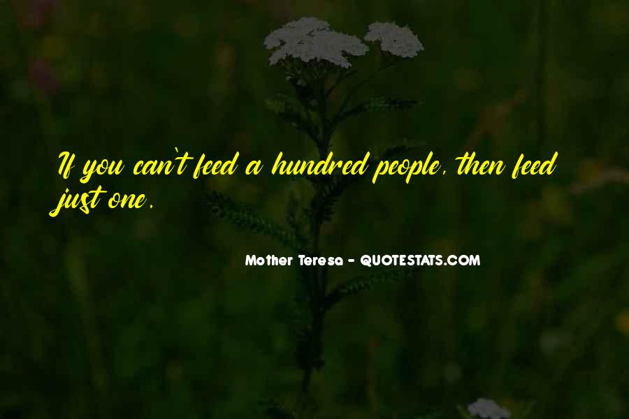 Mother Teresa Quotes #1121892