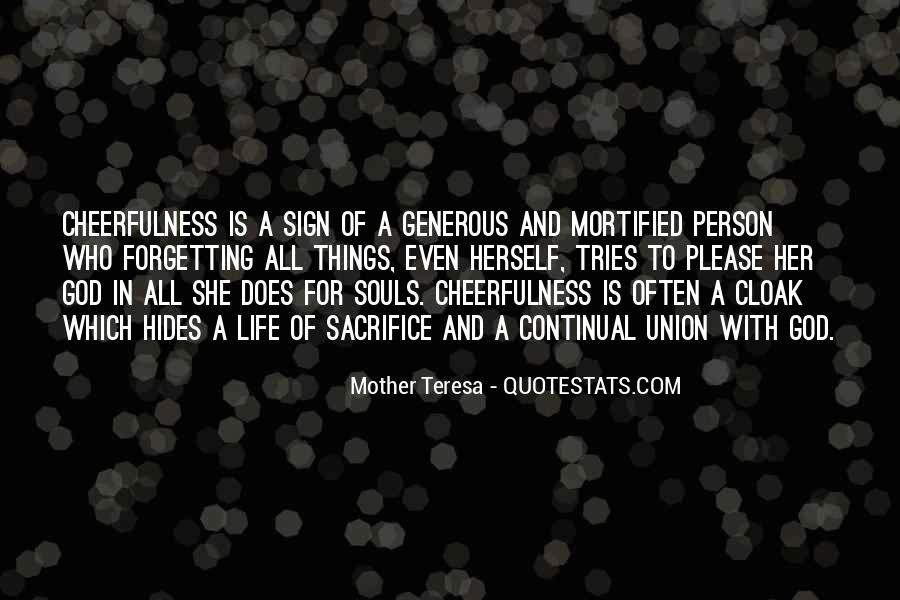 Mother Teresa Quotes #1367373