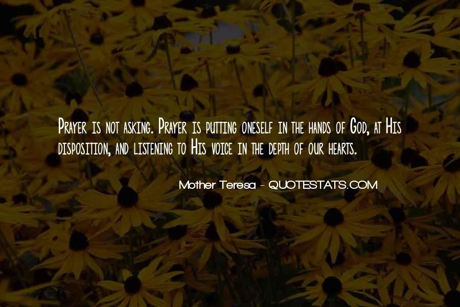 Mother Teresa Quotes #1491361