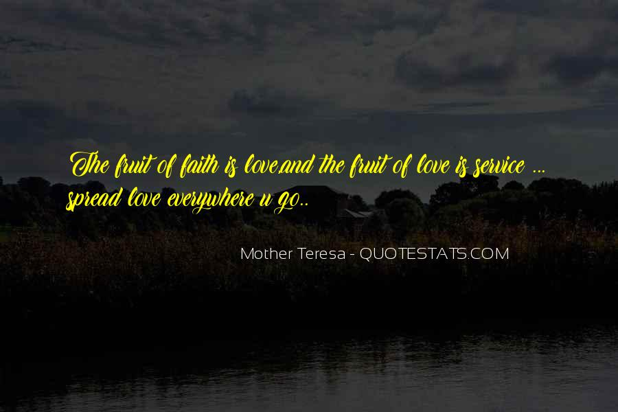 Mother Teresa Quotes #1684012