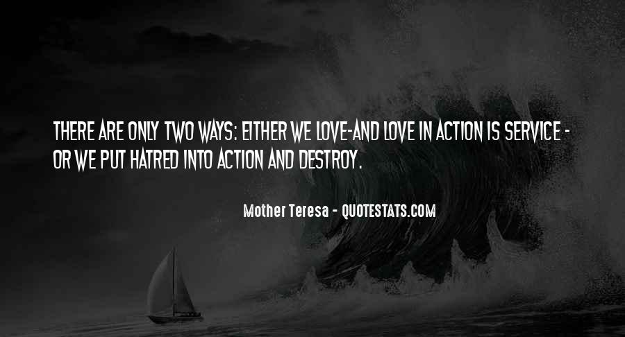 Mother Teresa Quotes #1796779