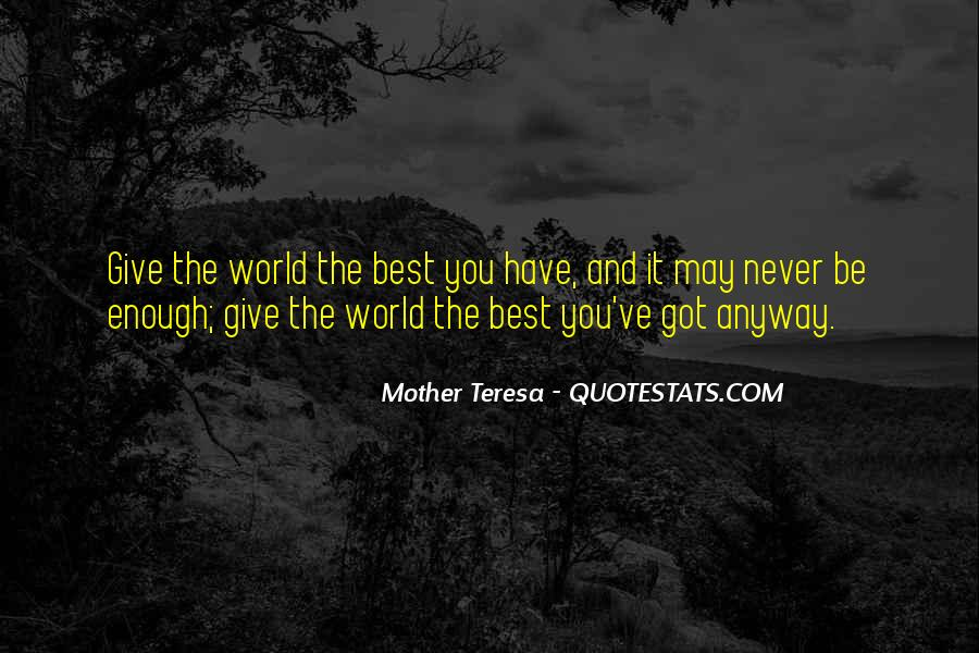 Mother Teresa Quotes #294818
