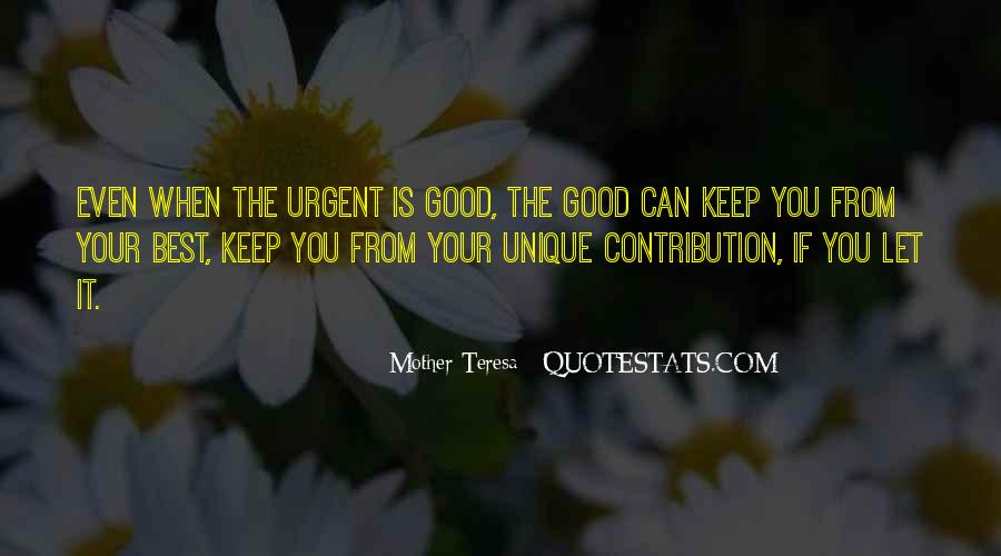 Mother Teresa Quotes #512374