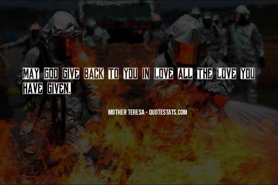 Mother Teresa Quotes #941201
