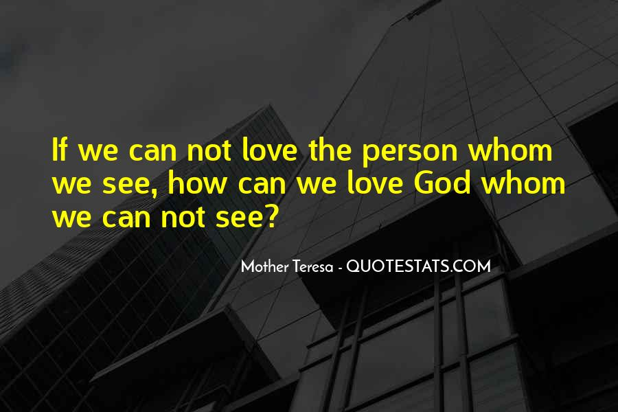 Mother Teresa Quotes #971542