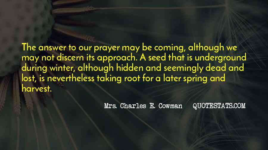 Mrs. Charles E. Cowman Quotes #926083