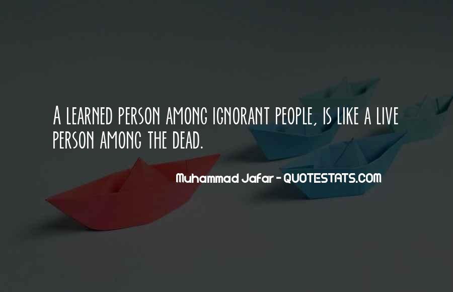 Muhammad Jafar Quotes #243839