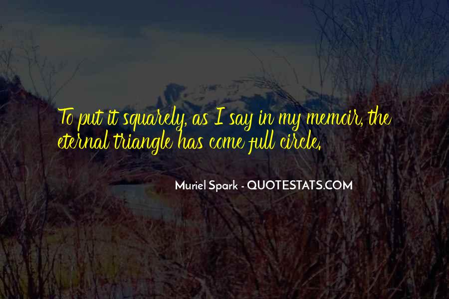 Muriel Spark Quotes #1667207