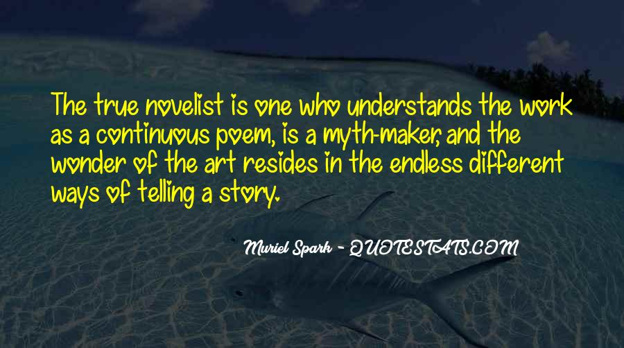 Muriel Spark Quotes #654613