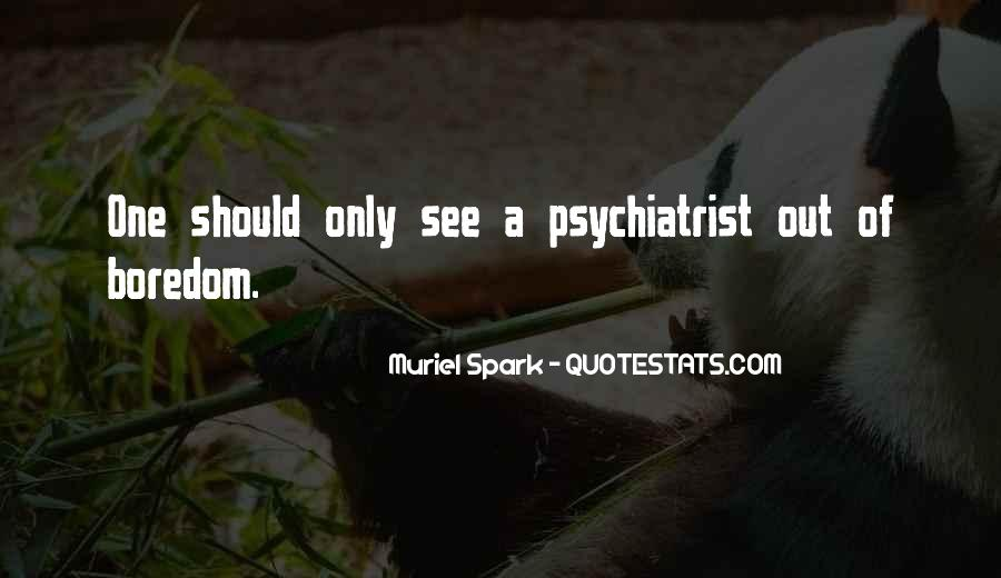 Muriel Spark Quotes #822240