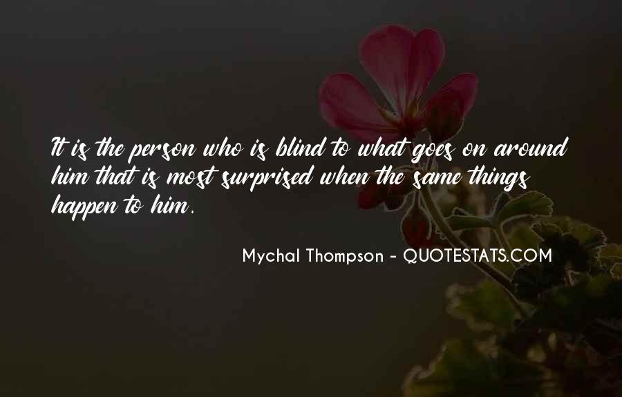 Mychal Thompson Quotes #881648