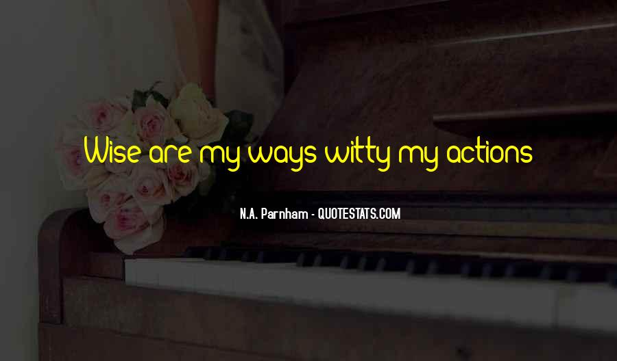 N.A. Parnham Quotes #1510722