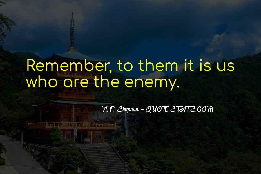 N. F. Simpson Quotes #1086970