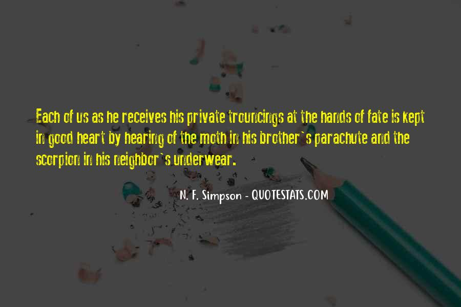 N. F. Simpson Quotes #195784