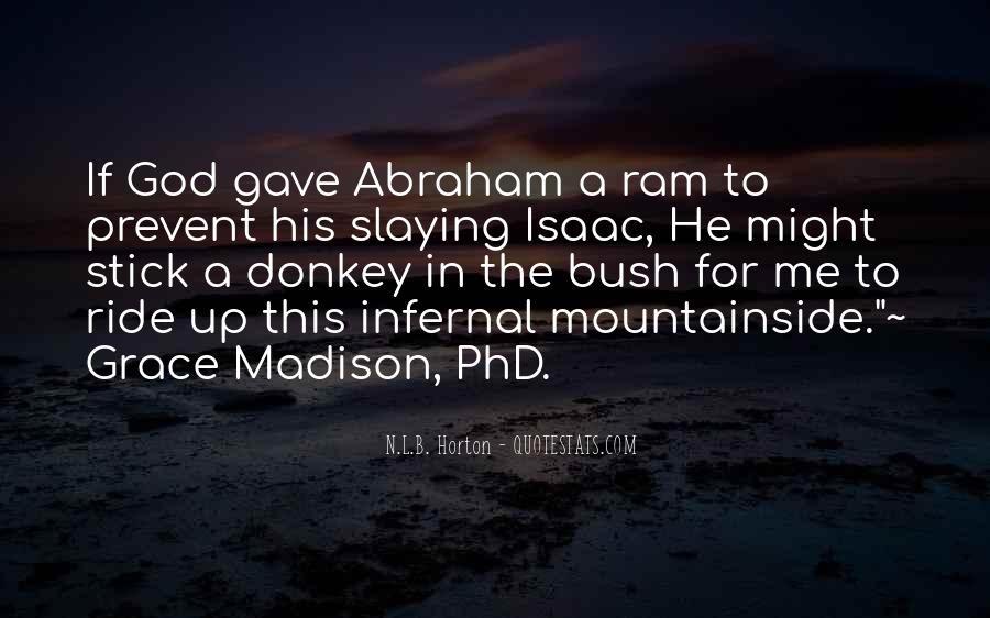 N.L.B. Horton Quotes #1422437