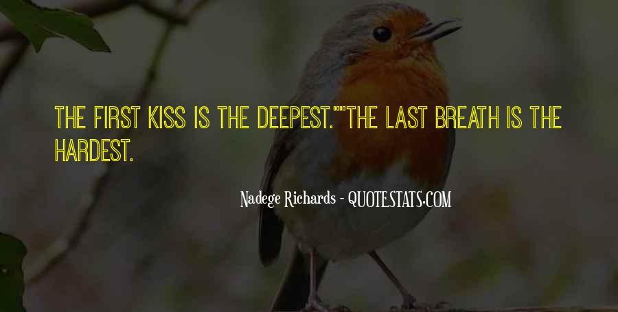Nadege Richards Quotes #1100757
