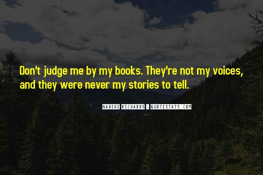 Nadege Richards Quotes #1226043