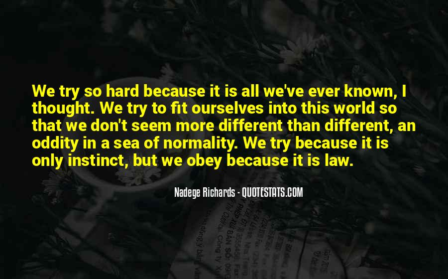 Nadege Richards Quotes #1519037