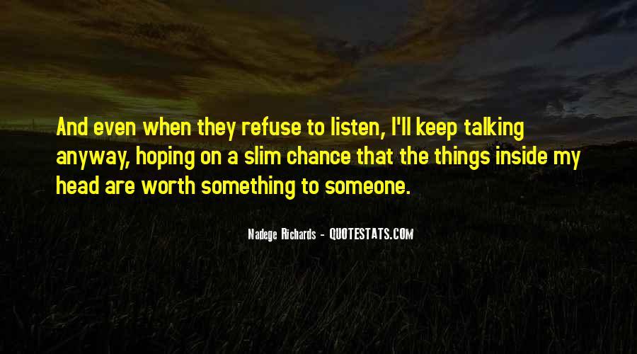 Nadege Richards Quotes #342039