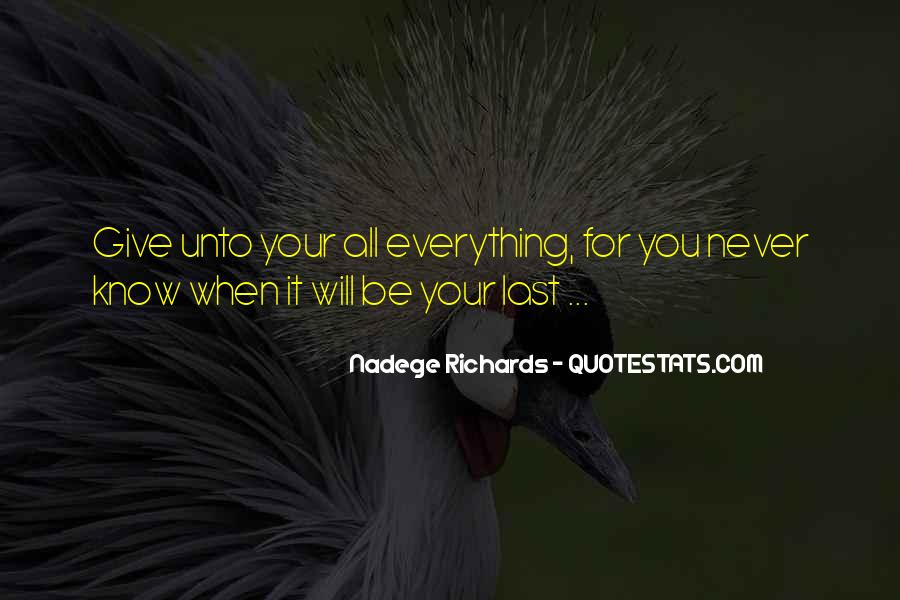 Nadege Richards Quotes #366393