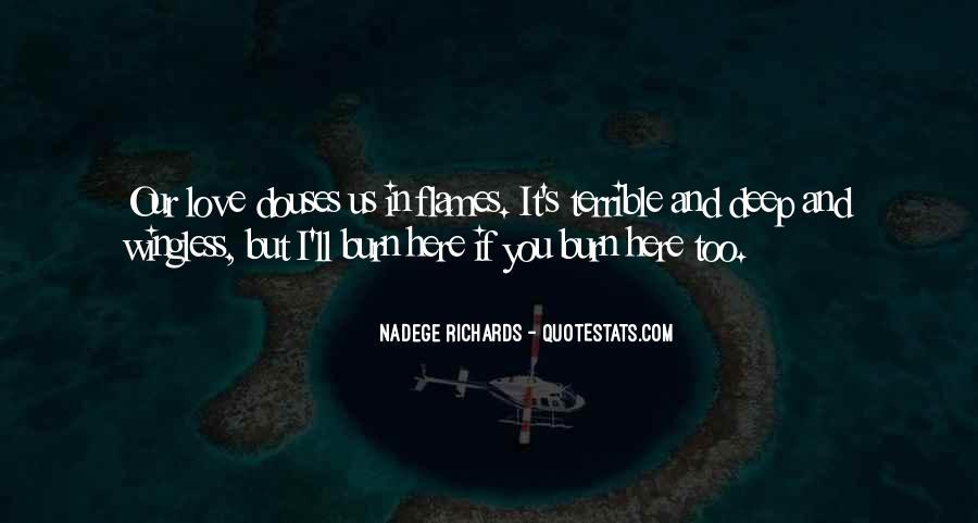 Nadege Richards Quotes #48750