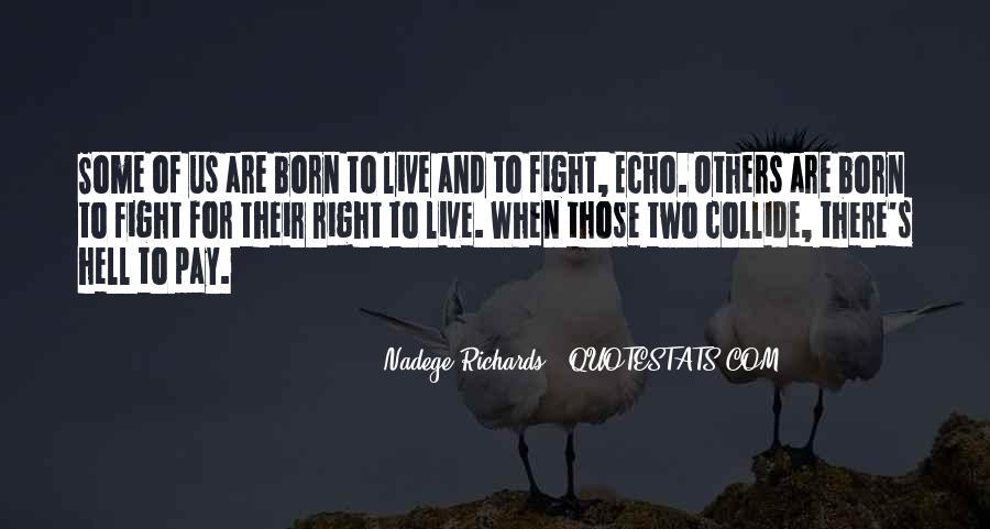 Nadege Richards Quotes #954200