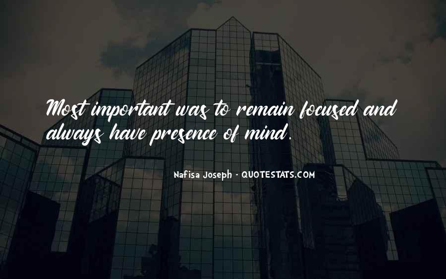 Nafisa Joseph Quotes #1645056