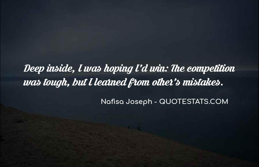 Nafisa Joseph Quotes #881414
