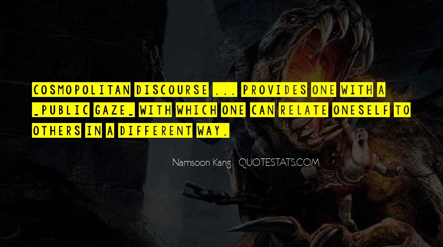 Namsoon Kang Quotes #1135063