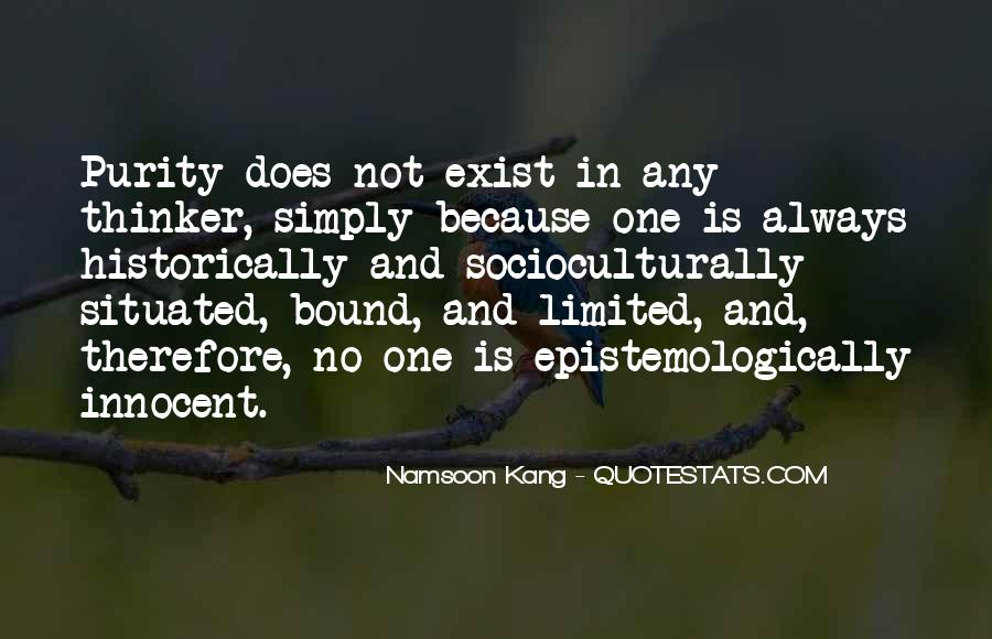 Namsoon Kang Quotes #1435058