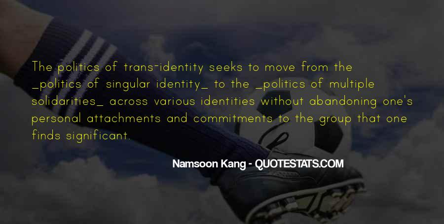 Namsoon Kang Quotes #40129