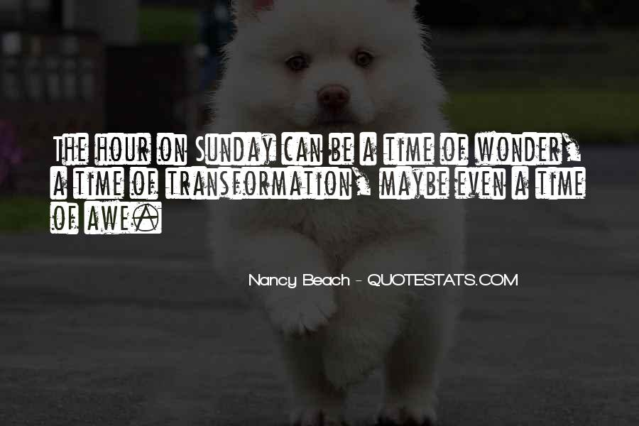 Nancy Beach Quotes #33536