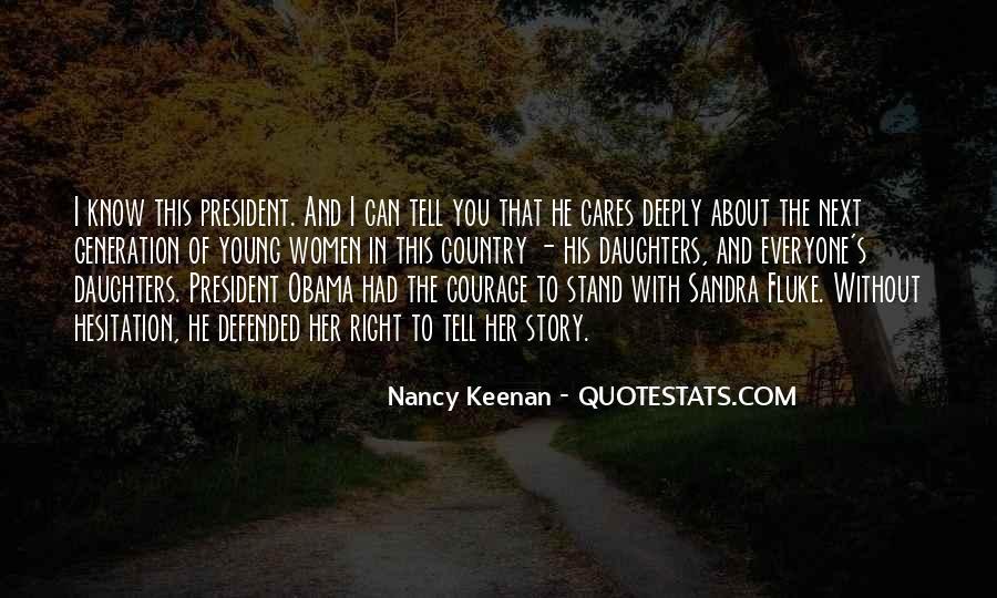 Nancy Keenan Quotes #662875