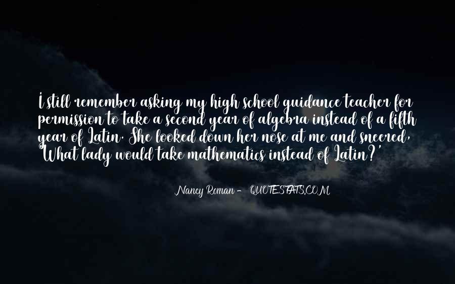 Nancy Roman Quotes #1175281