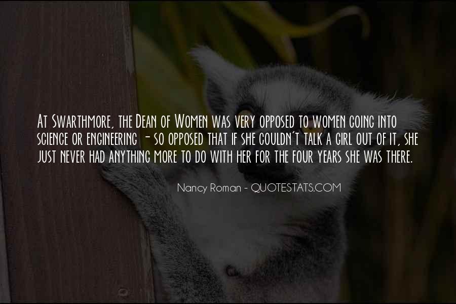 Nancy Roman Quotes #1561009