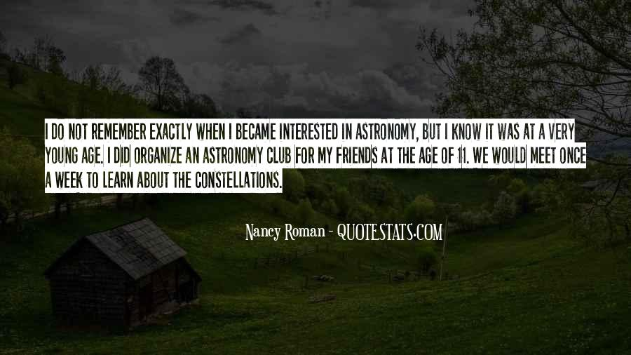 Nancy Roman Quotes #236317