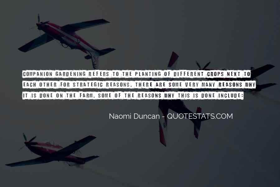 Naomi Duncan Quotes #762629
