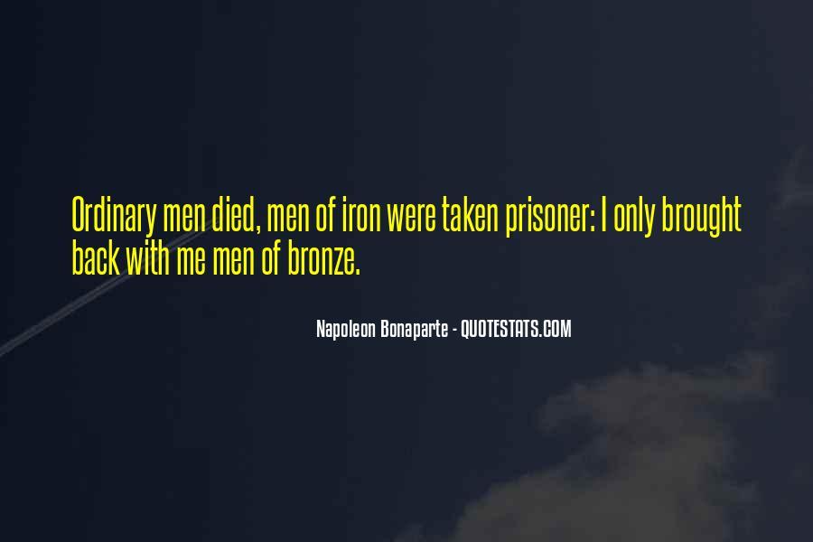 Napoleon Bonaparte Quotes #136775