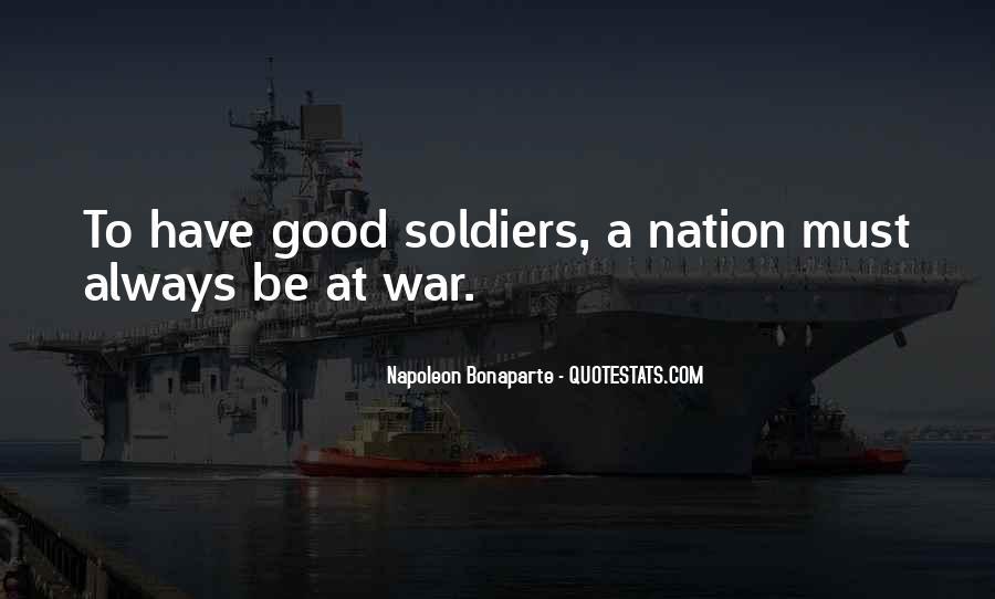 Napoleon Bonaparte Quotes #172562