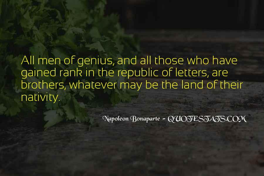 Napoleon Bonaparte Quotes #1846195