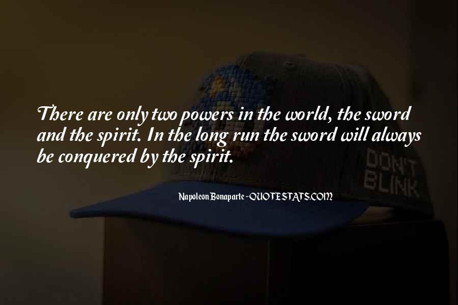 Napoleon Bonaparte Quotes #712234