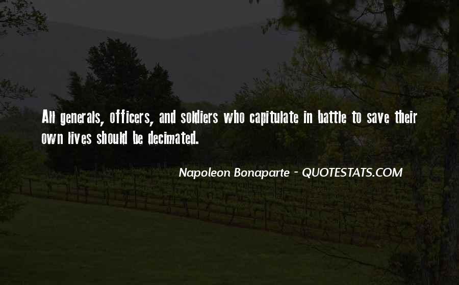 Napoleon Bonaparte Quotes #997254