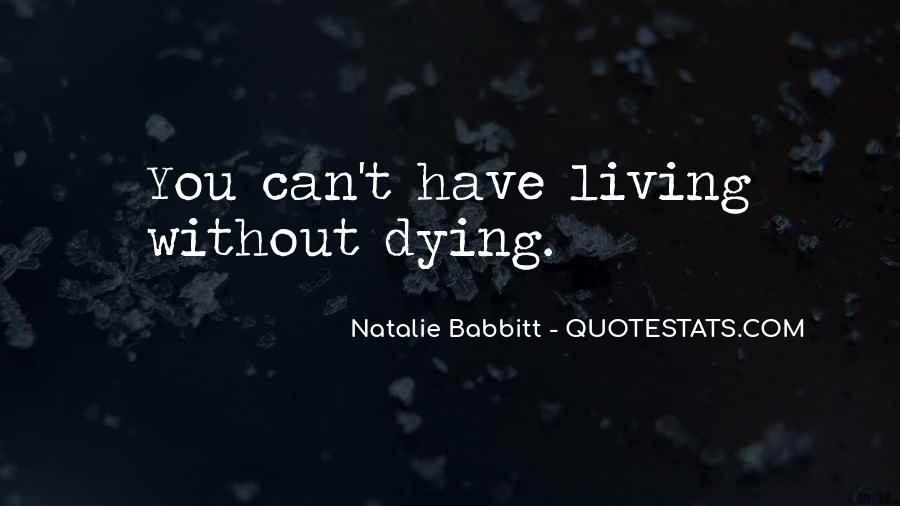 Natalie Babbitt Quotes #1390686