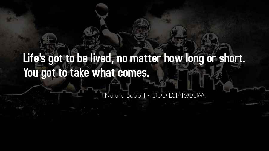 Natalie Babbitt Quotes #1775790