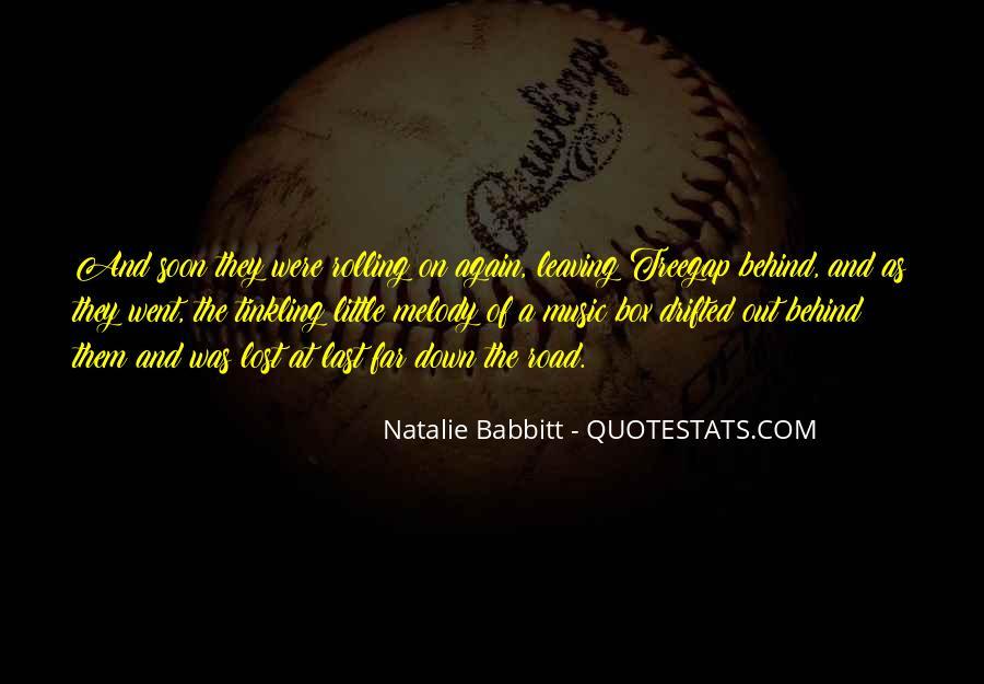 Natalie Babbitt Quotes #232099