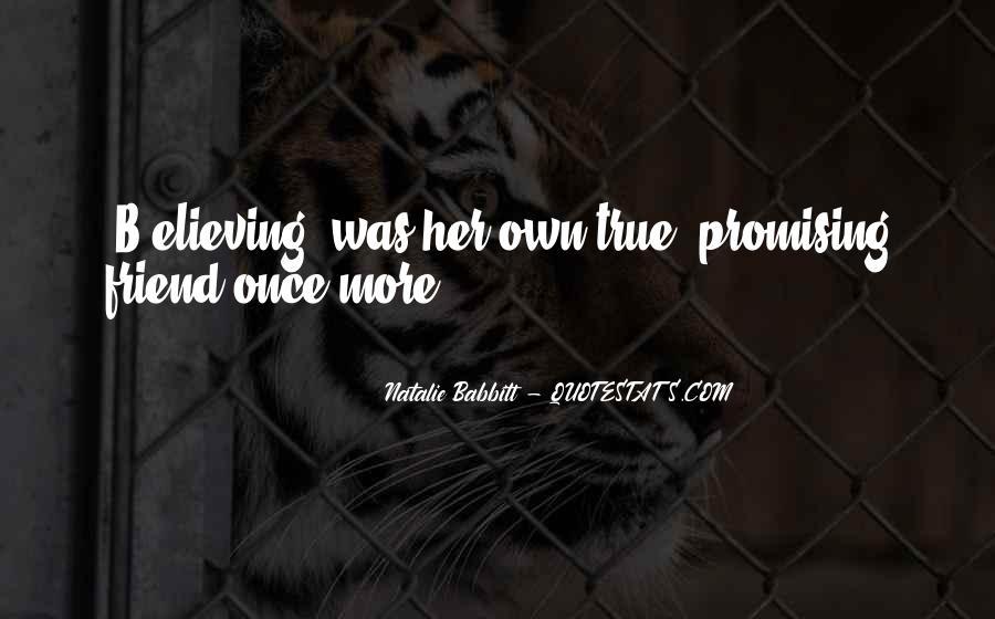 Natalie Babbitt Quotes #290992
