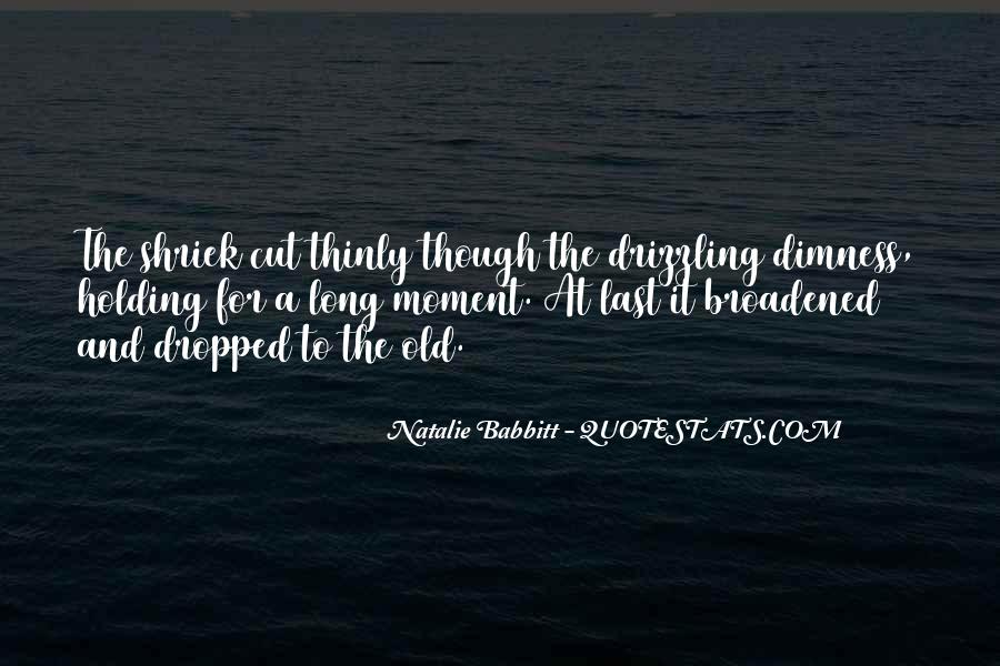 Natalie Babbitt Quotes #754404