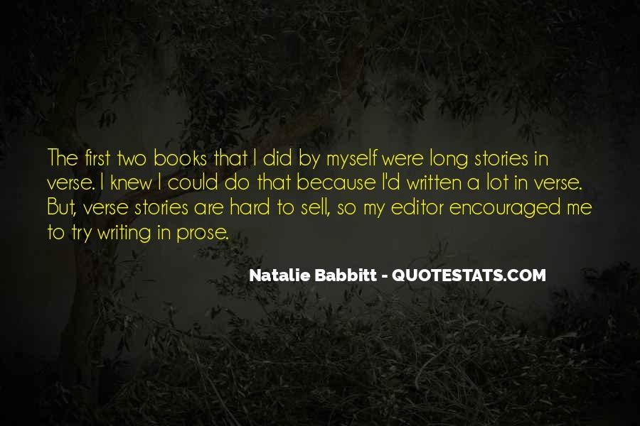 Natalie Babbitt Quotes #997721