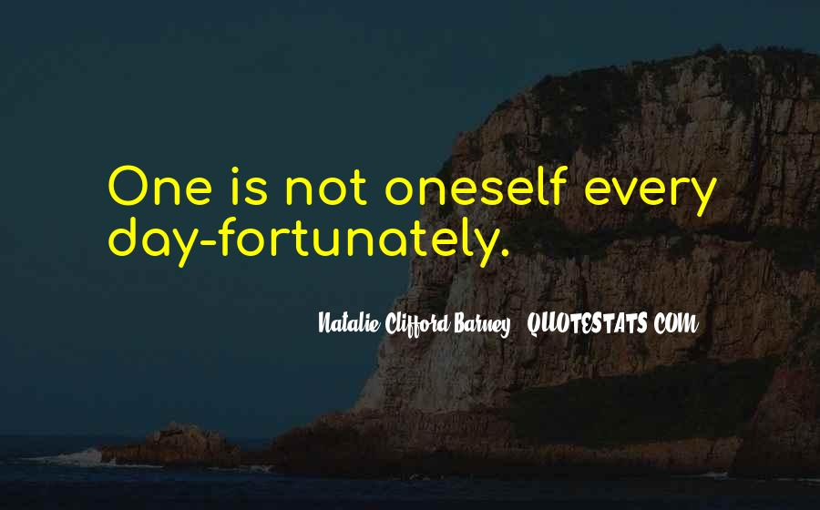 Natalie Clifford Barney Quotes #1255140