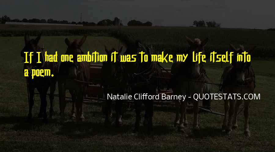 Natalie Clifford Barney Quotes #415194